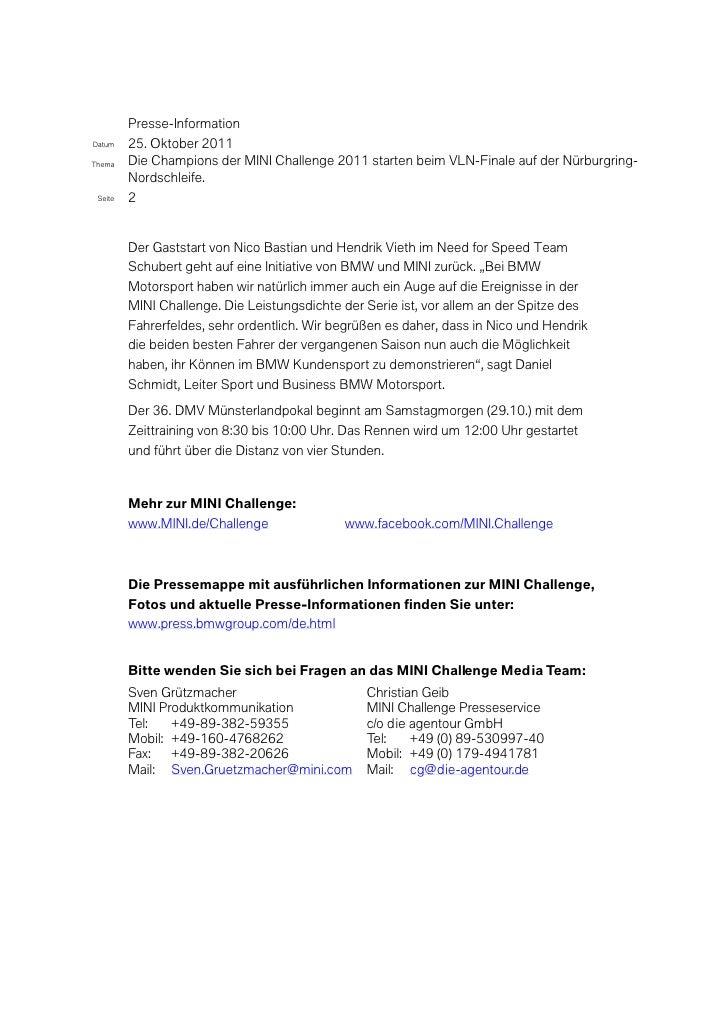 MINI Presse_VLN-Finale_2011-10-25.pdf Slide 2