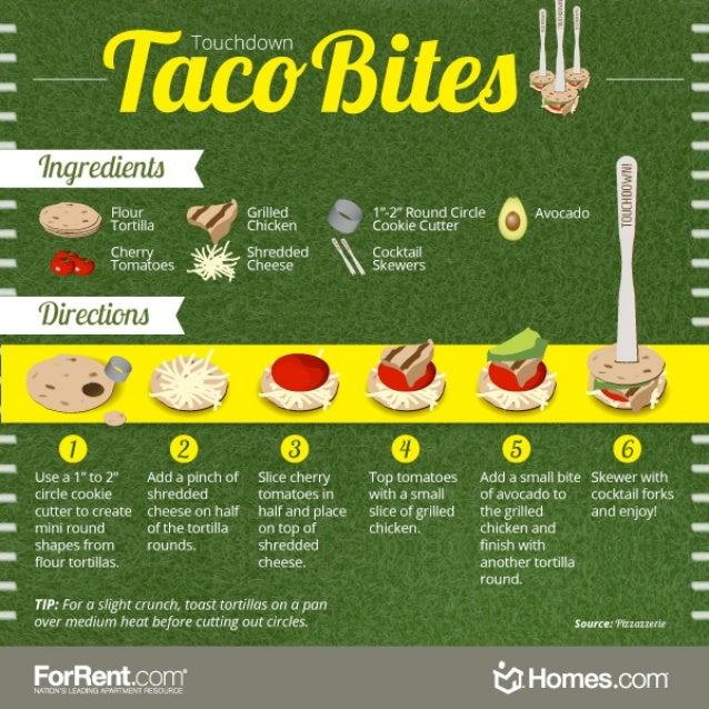 Touchdown Taco Bites