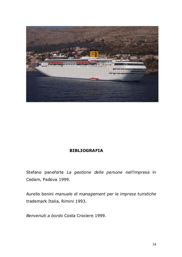 BIBLIOGRAFIAStefano paneforte La gestione delle persone nell'impresa inCedam, Padova 1999.Aurelio bonini manuale di manage...