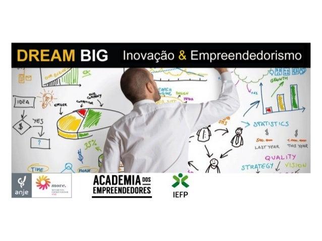 3 eixos operacionais: Academia dos Empreendedores – Apoia empreendedores preferencialmente até à fase de criação da empres...