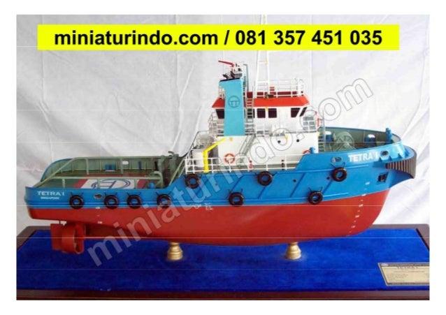 Miniatur Kapal Tug 081 357 451 035 (TSEL)