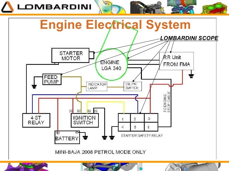 mini baja engine lga340 Automotive Wiring Diagrams