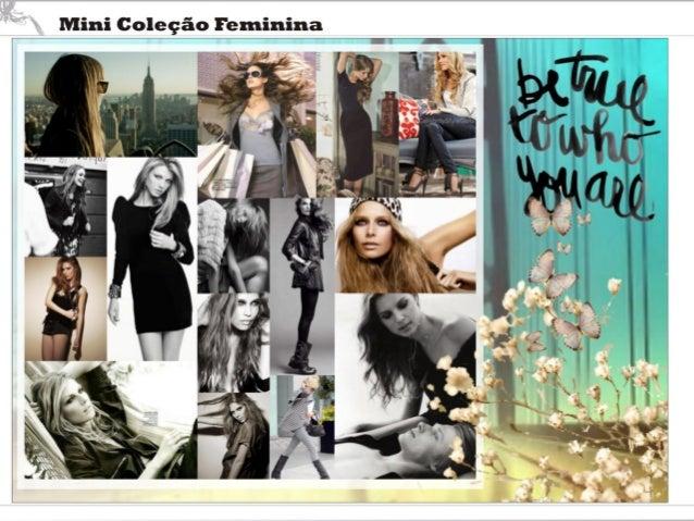 Mini Coleção Feminina  LJ:  .. .. . ..T  l q. . UV .