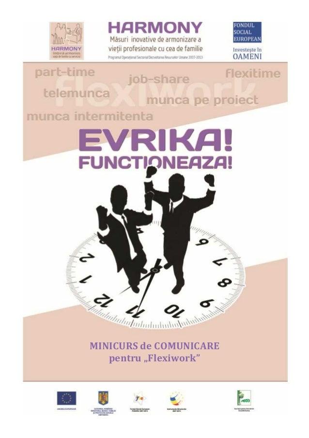 """MINICURS de COMUNICARE pentru """"Flexiwork"""""""