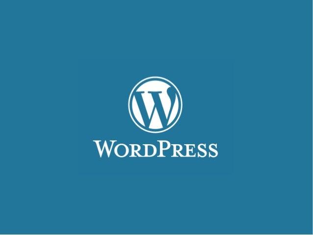 Minicurso WordPress  Gerenciamento de Conteúdo com  WordPress: Criação de Sites  Edson Silva