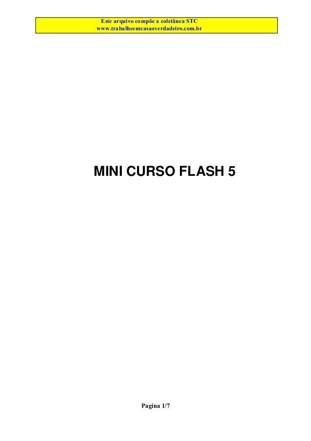 EsteEste arquivo compõe a coletânea STCCURSOS arquivo é parte integrante do CD MEGA Acesse - www.megacursos.com.br www.tra...