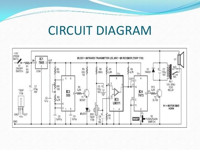 free wiring diagram circuit diogram of anti thift rh freewirediagram blogspot com