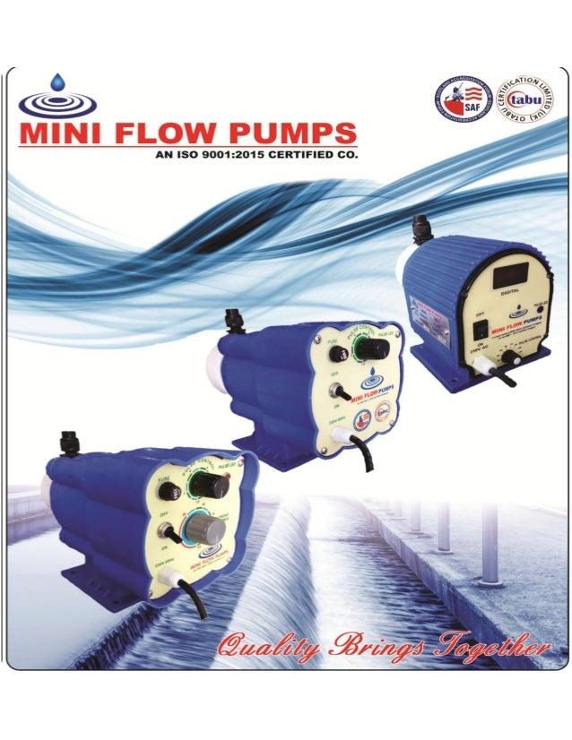 ACTUATED DIAPHRAGM PUMP By Mini Flow Pumps