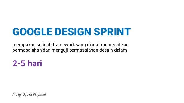 Mini Google Design Sprint Slide 2