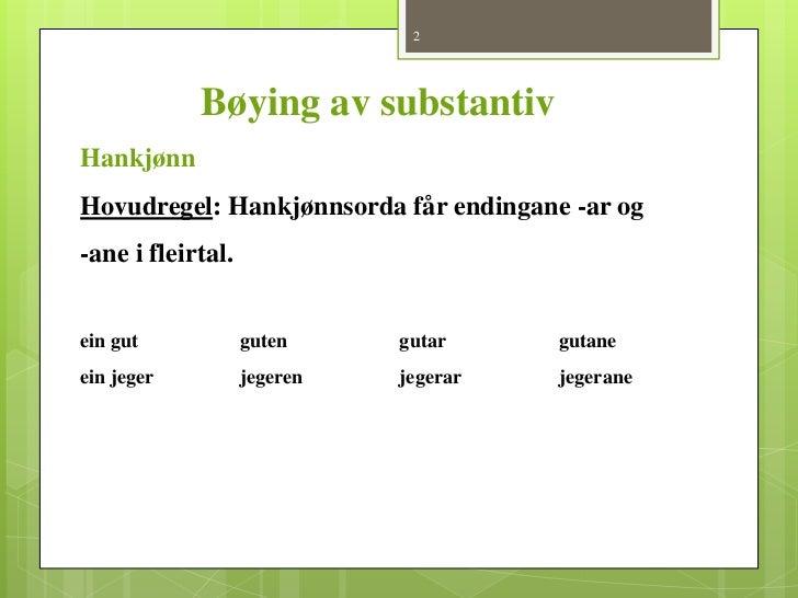 Man På Nynorsk