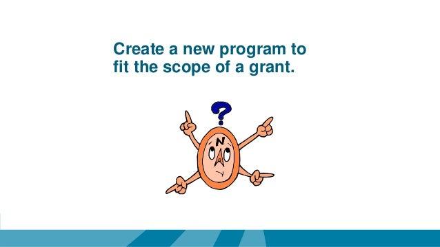 how to write a mini grant