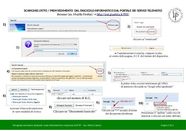 miniguida estrazione duplicati copie informatiche e