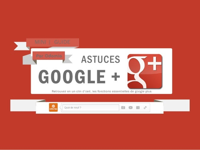 Mini guide google plus