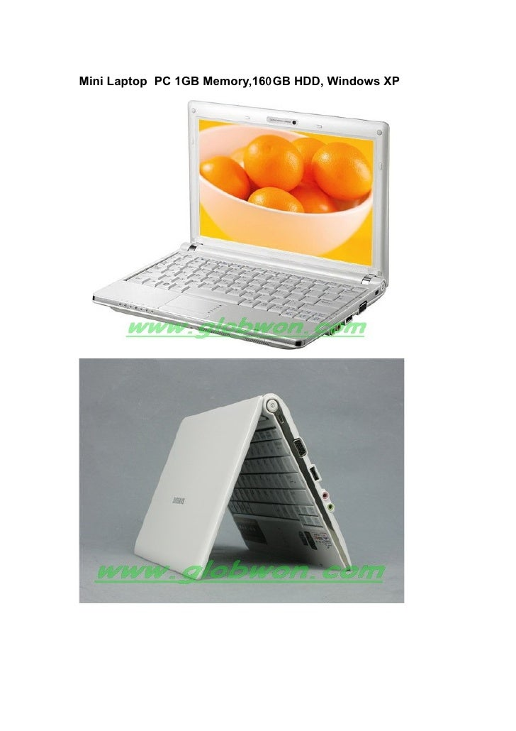 Mini Laptop PC 1GB Memory,160GB HDD, Windows XP