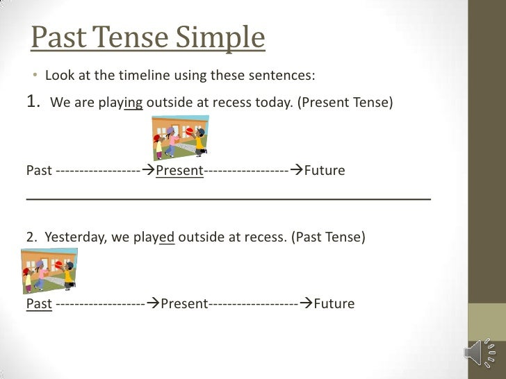Mini lesson on past tense simple – Simple Past Tense Worksheets