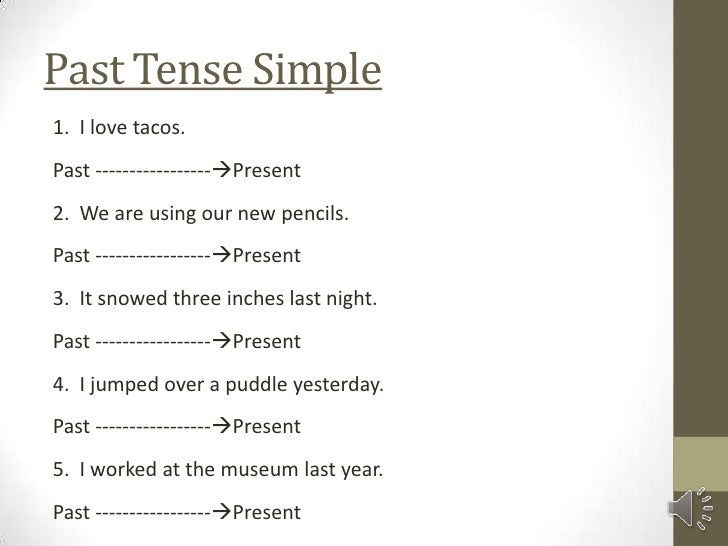 Resume Present Or Past Tense