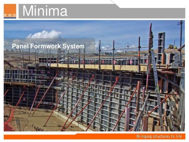 Minima -Panel Formwork System