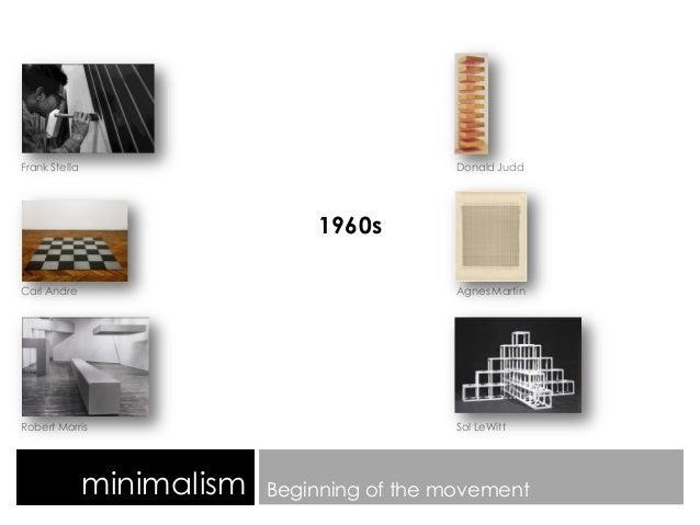 Minimalism study of an art movement for Minimalist art 1960