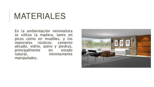 Minimalismo for Casa minimalista historia
