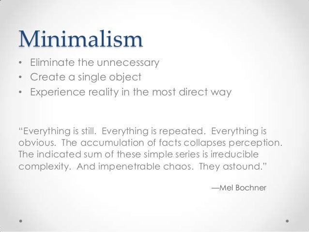 minimalism powerpoint full