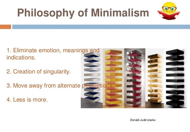 Minimalism ppt for Meaning of minimalist design
