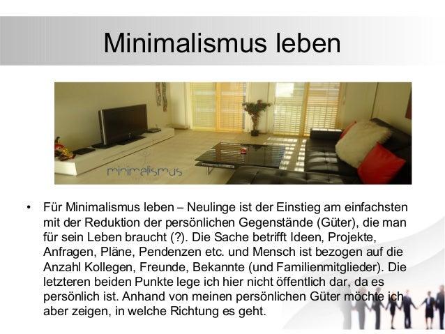 Minimalistisch wohnen was ist minimalismus eigentlich for Leben als minimalist
