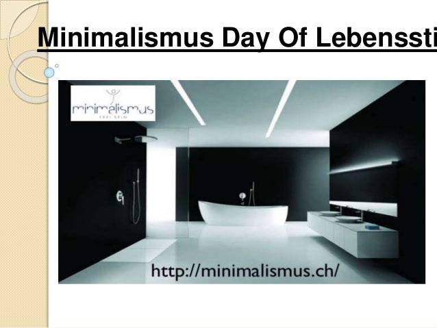 Minimalismus Day Of Lebenssti