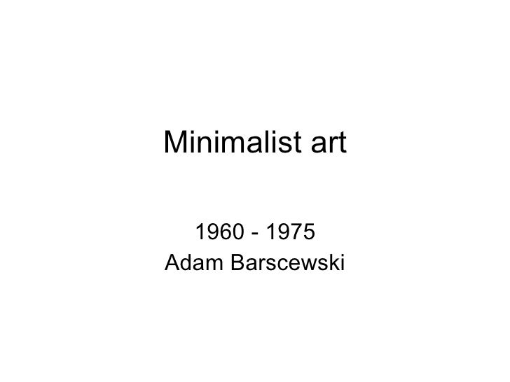 minimalist art redo