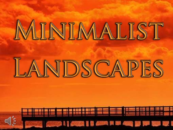 Minimalist landscapes (v.m.)