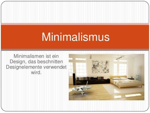 Minimalismen ist ein Design, das beschnitten Designelemente verwendet wird. Minimalismus