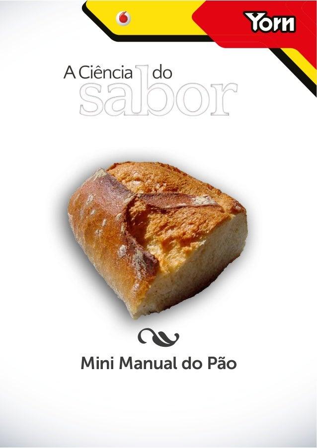 •do Pão Mini Manual