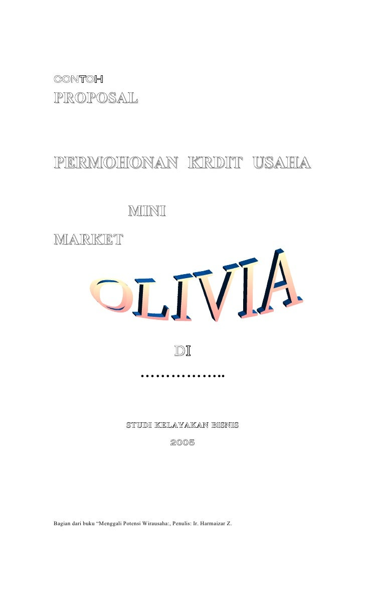 Mini market daftar isi