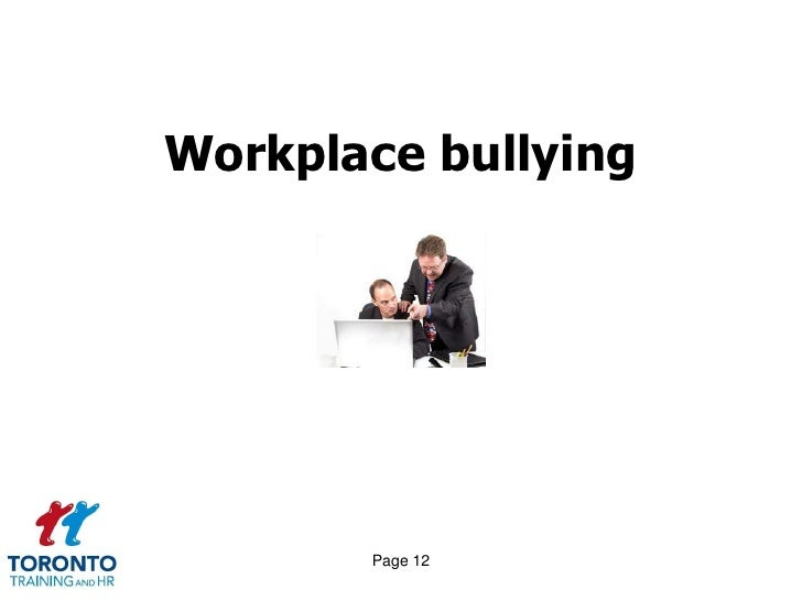 harassment in the workplace training