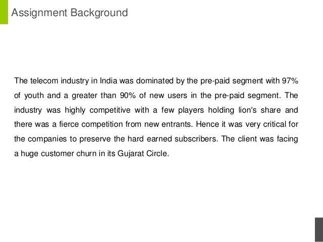 Minimizing churn in telecom with customer value maximization Slide 2
