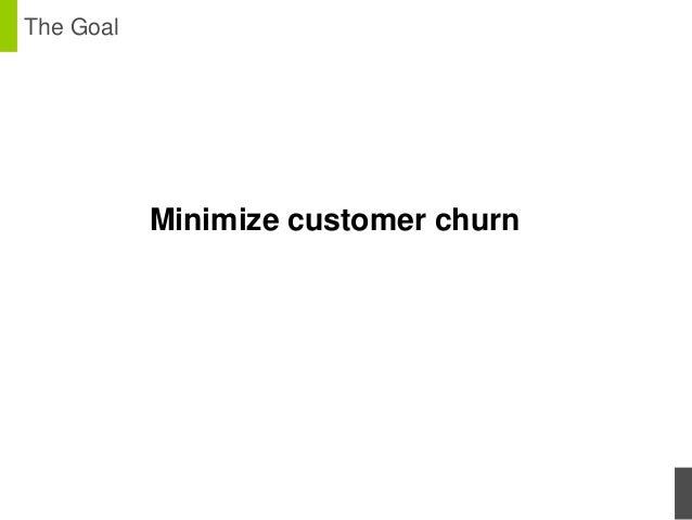 Minimizing churn in telecom with customer value maximization Slide 3