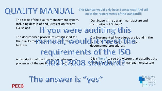 Pecb webinar minimizing the documentation in a qms system quality management system 5 the scope publicscrutiny Gallery