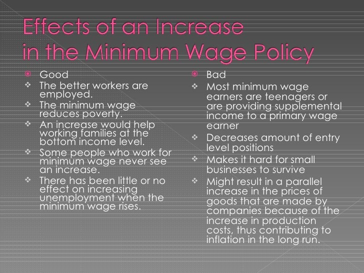 article rebuttal minimum wage essay What is the best rebuttal to the argument that if increasing the minimum wage to $10/hour would help workers, why shouldn't we increase the minimum wage to.