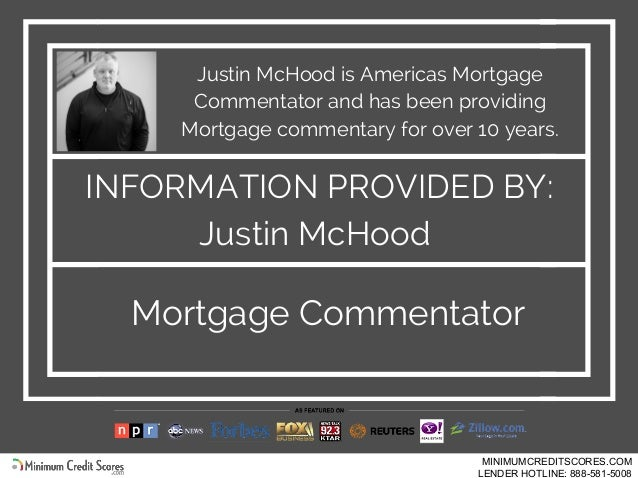 Justin McHood is Americas Mortgage Commentator and has been providing Mortgage commentary for over 10 years. Mortgage Comm...