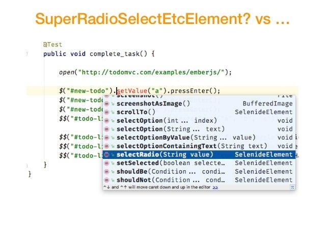 SuperRadioSelectEtcElement? vs …