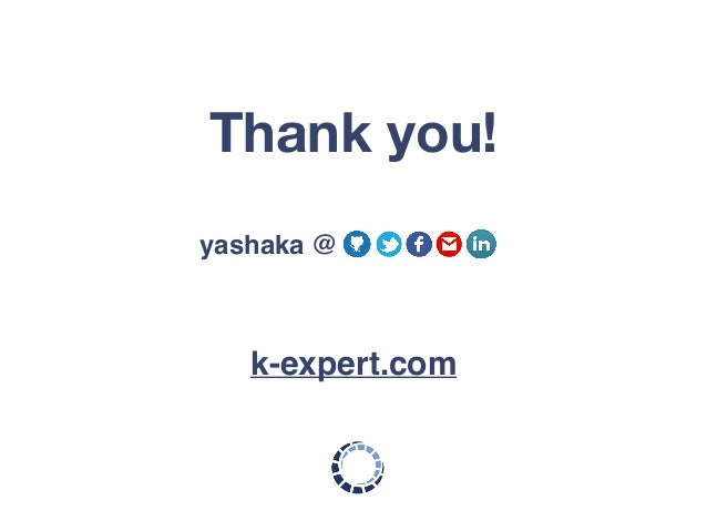 Thank you! k-expert.com yashaka @