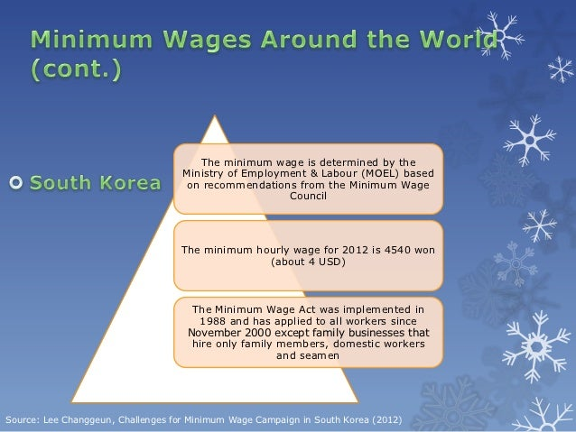 Minimum Wage Essay Example 1