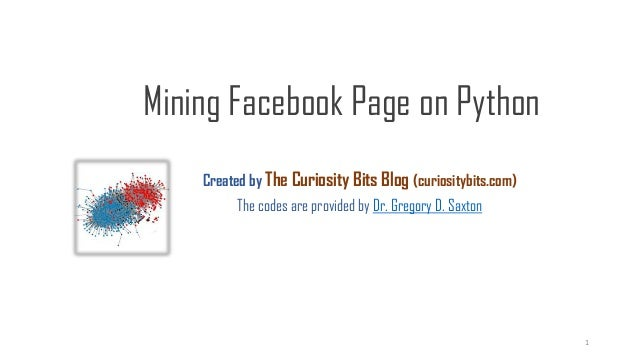 Created by The Curiosity Bits Blog (curiositybits.com) The codes are provided by Dr. Gregory D. Saxton Mining Facebook Pag...
