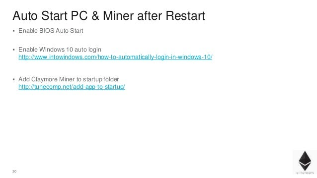 Ethereum Mining How To