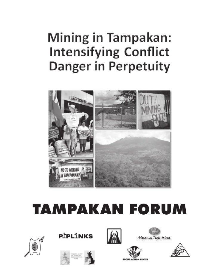 Mining in Tampakan: Intensifying conflict, danger in perpetuity