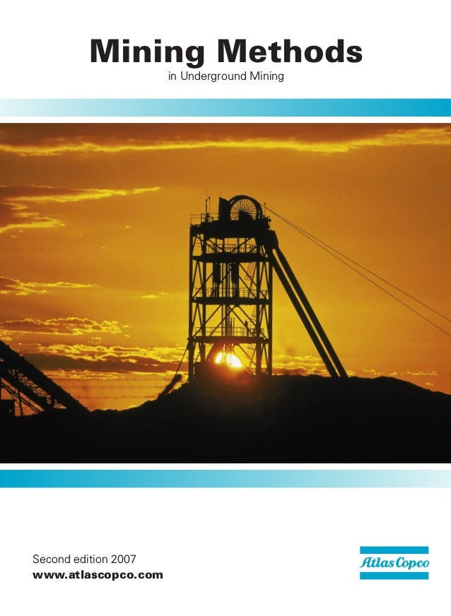 Karta Zinkgruvan.Mining Methods Underground Mining