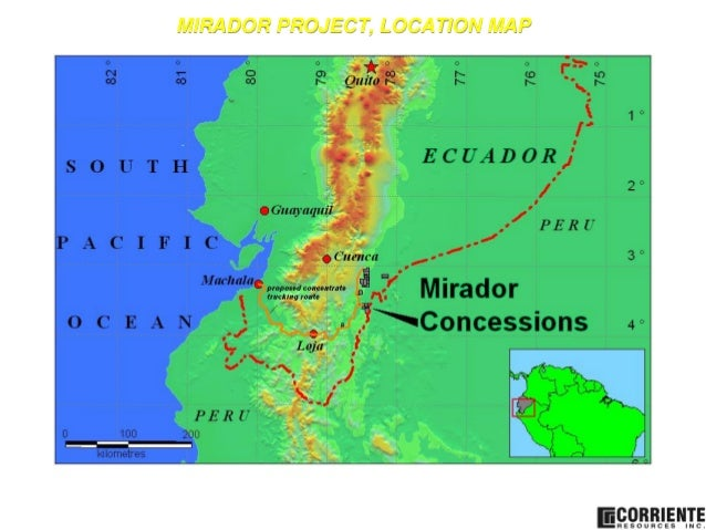 Geological and Mining Potential of Ecuador