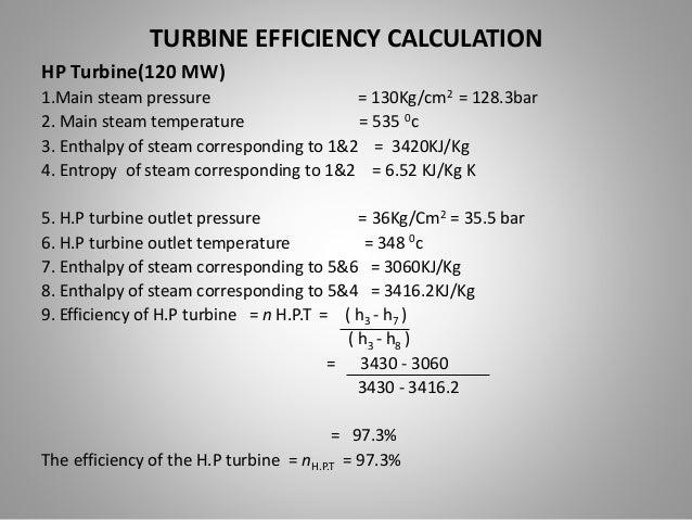 Study And Analysis Of Steam Turbine And Turbine Losses