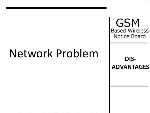Gsm baed notice board