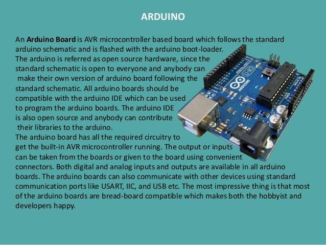 Robotics and embedded system ppt
