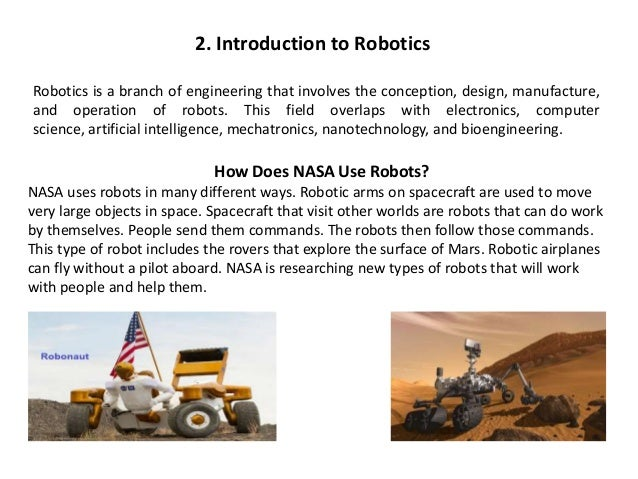 robotics and embedded system ppt